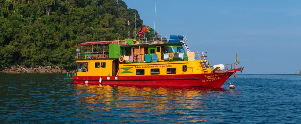 Schnorcheltour Andamanensee