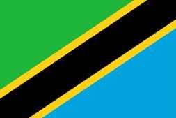 Tanzania Flagge